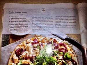 Recipe for Smoked Chicken Pizza as it appears in Better Homes and Gardens Special Interest Publication: 30-Minute Dinners