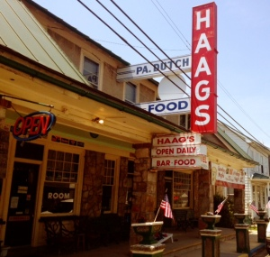 The eclectic Haags Hotel!