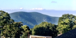 The View from Village Centre at Wintergreen Resort
