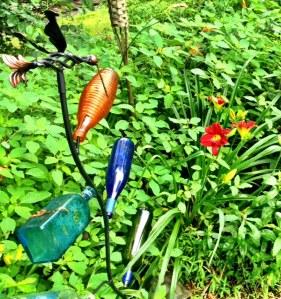 Spirit Tree lives among the Lillies
